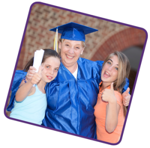 It's never too late to get your diploma!