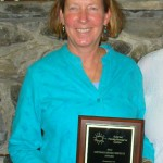 Katherine Keys receives award from Sunrise Family Resource Center