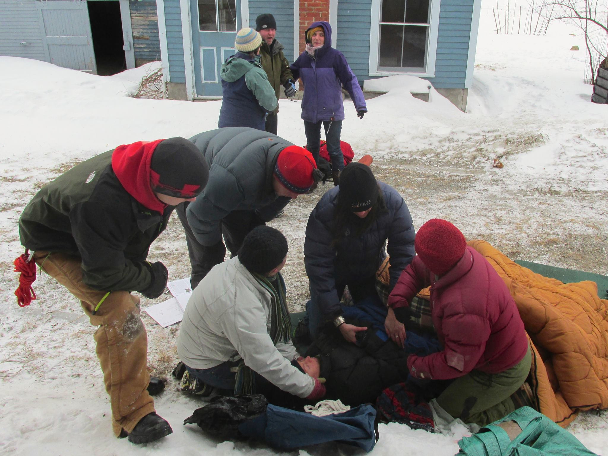 Wilderness First Aid Training
