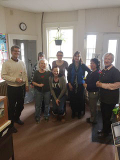 TDBank surprised The Tutorial Center Staff with beautiful flowers in appreciation for the work we do! Thank you TDBank!