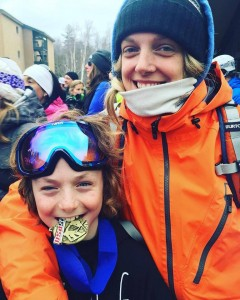 In March Bradley Harper (right) took 1st in Open Class in  USASA Southern Vermont Slopestyle