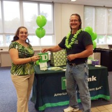 TD Bank Bring change even in Bennington, Vermont