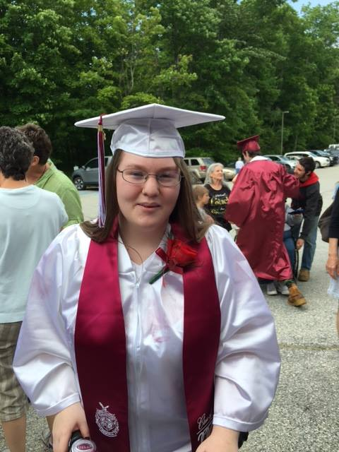 Laurie Lonergan Graduates from Arlington Memorial High School