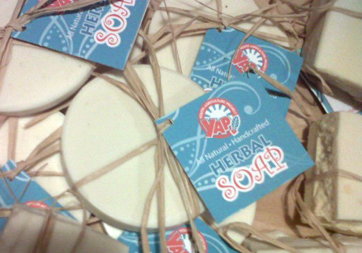YAP handmade herbal soap